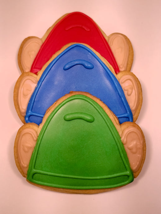 Gnome Hat Cookies