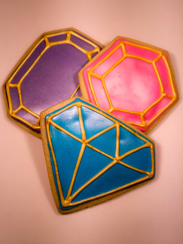 Pastel Gemstone Cookies