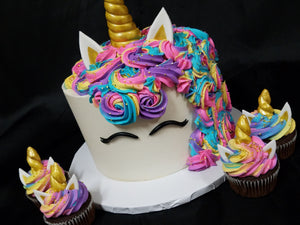 Unicorn Cake (Chocolate)