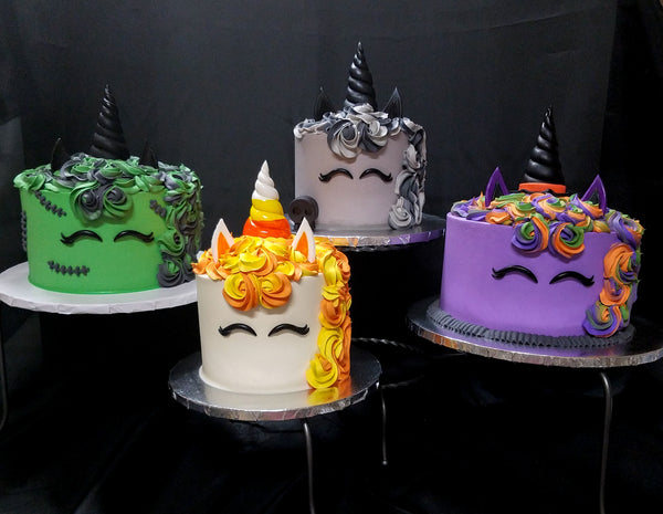 Order , Halloween Unicorn Cakes! \u2013 Storybook Bakery