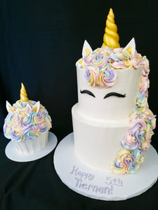 Unicorn Cupcake Smash Cake