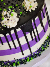 LIMITED - Halloween Stripes Cake