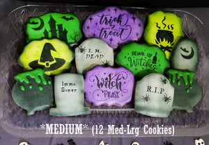 LIMITED - Halloween Cookies (Witchy)