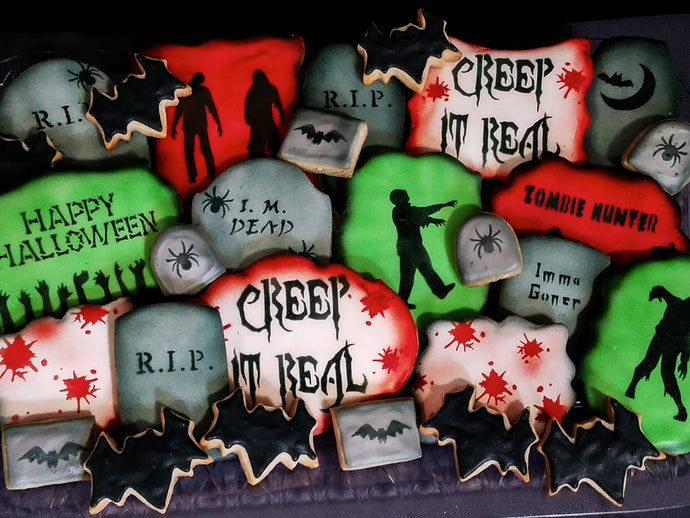 LIMITED - Halloween Cookies (Zombies)
