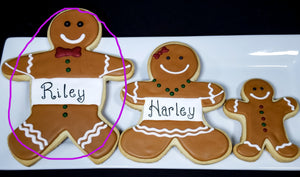Personalized Gingerbread Boy/Girl Cookie (Giant)