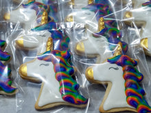 Unicorn Head Cookies