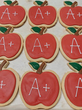 Teacher Apple Cookies (1 Dozen)