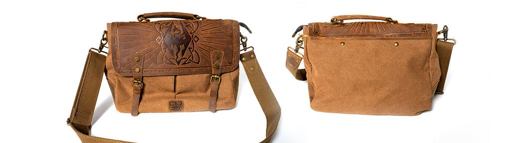 Elder Scrolls V: Skyrim Dragon Hunter Messenger Bag