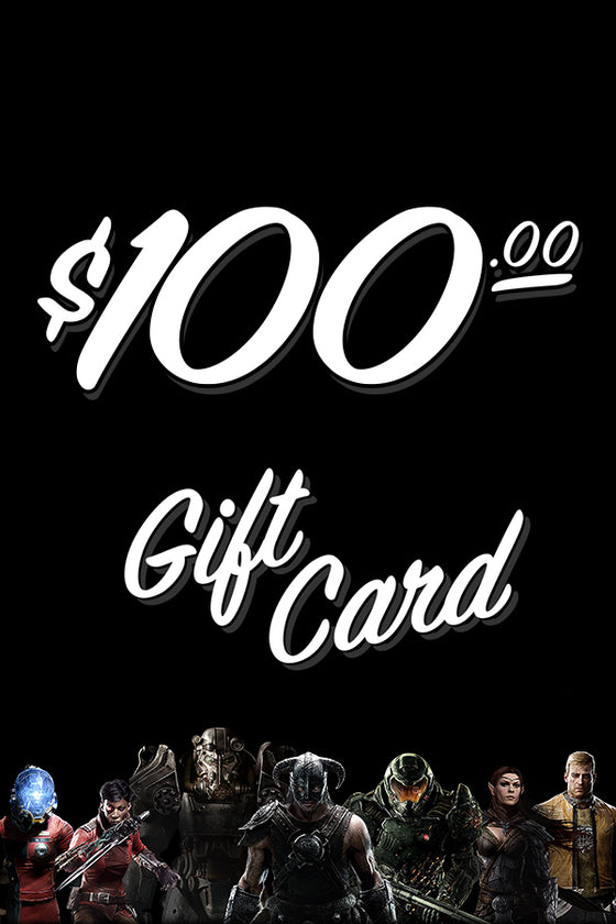 $100 Bethesda Gear Store Gift Card