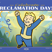 Reclamation Day Lithograph