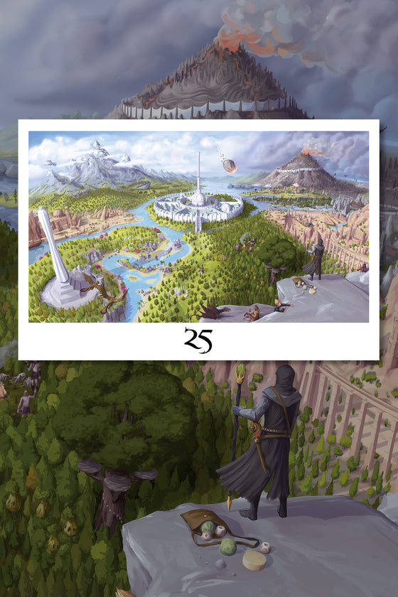 The Elder Scrolls 25th Anniversary Lithograph