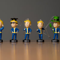 S.P.E.C.I.A.L. Vault Boy Holiday Ornaments