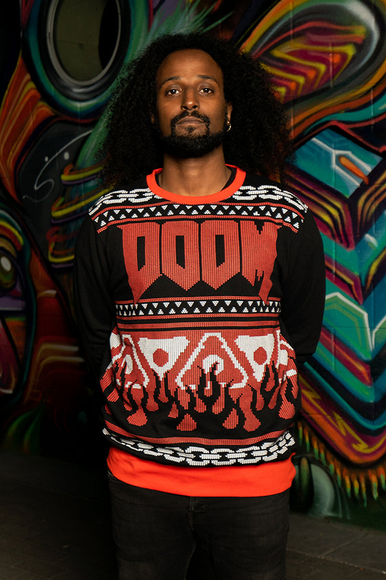 DOOM Holiday Fleece