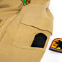 NCR Civilian Ranger Hoodie arm patch and pocket