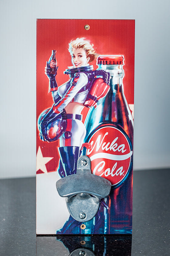 Nuka Girl Wall Mount Bottle Opener