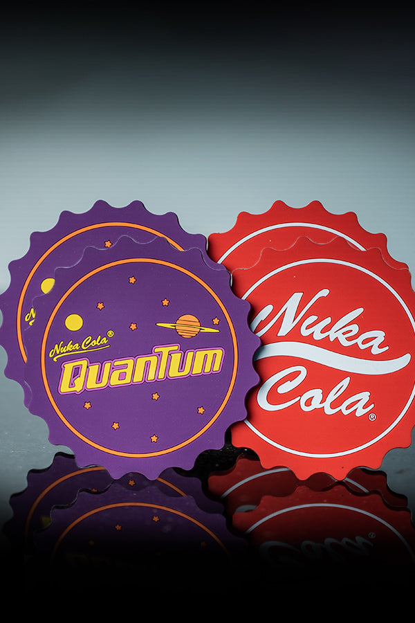 Nuka Cola and Quantum Coaster Set