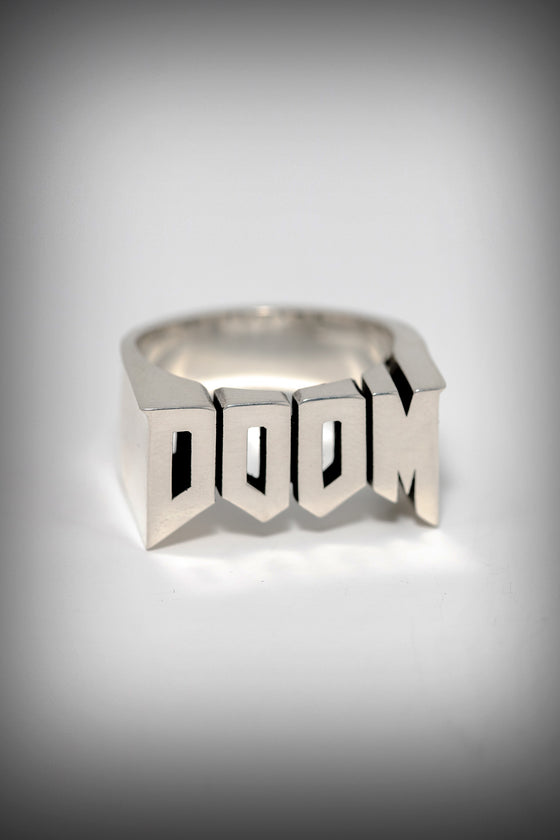 DOOM Logo Ring