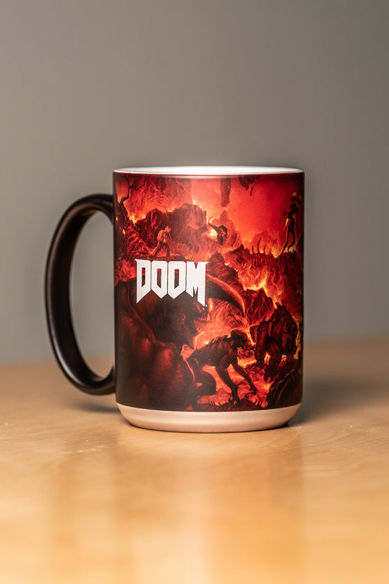 Doom Heat Changing Mug