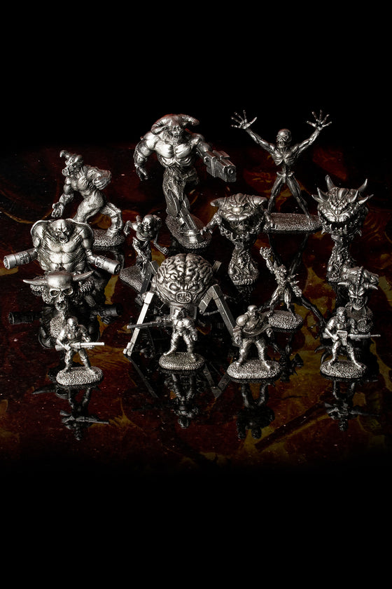 All the DOOM Reaper Miniatures Figures