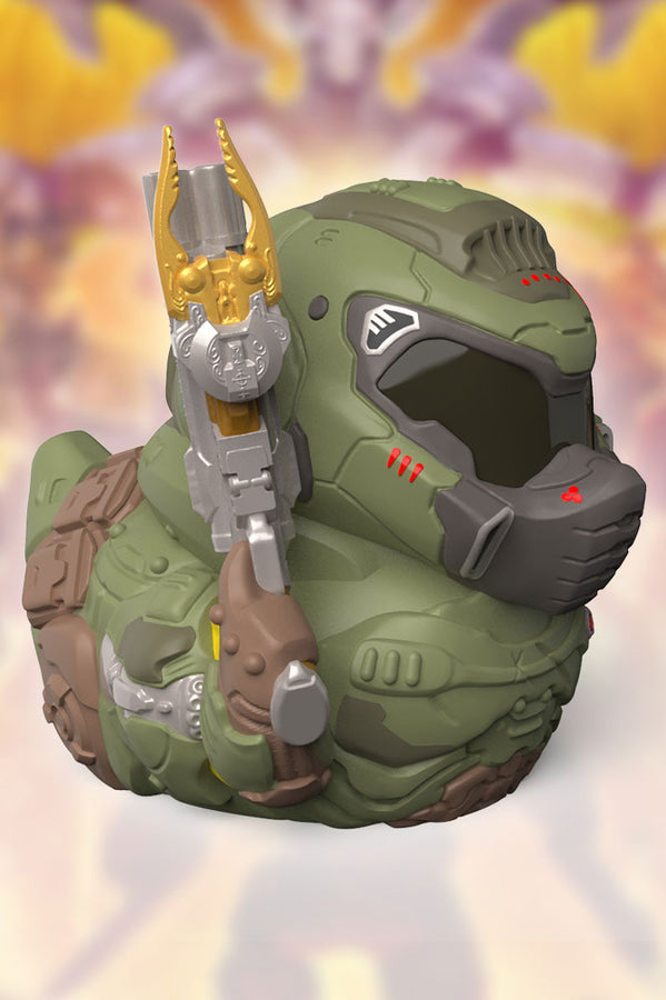 Tubbz Doom Slayer Duck Figure