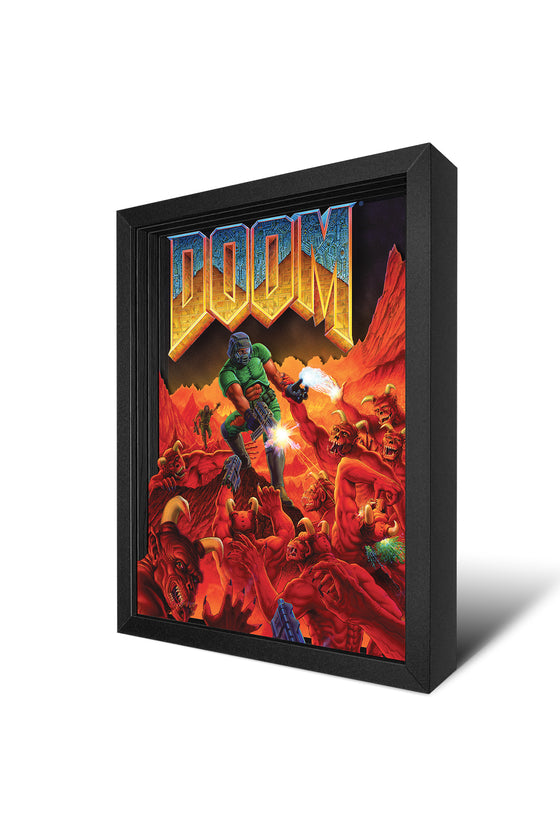 Classic DOOM Shadow Box