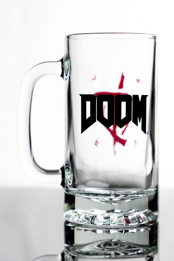 DOOM Slayer Tankard Glass Stein