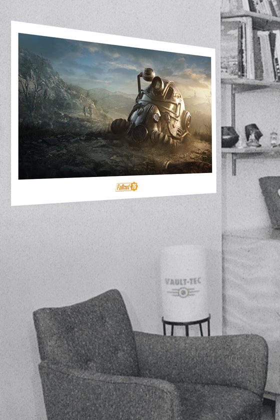 Dawn Power Armor Limited Edition Lithograph