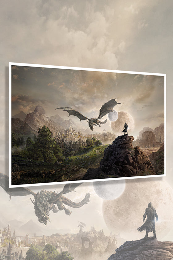 Elsweyr Vista Limited Edition Lithograph