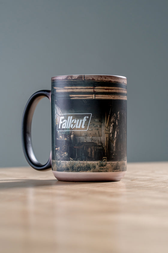 Garage Heat Changing Mug