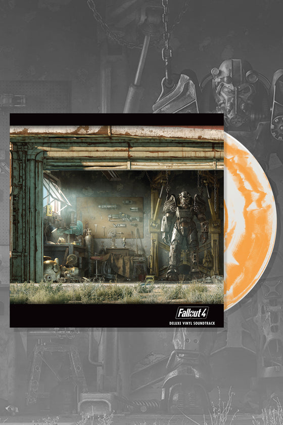 Fallout 4 Deluxe Vinyl Record Soundtrack