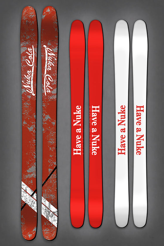 Nuka Cola Skis