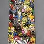 Fallout Emoji Snowboard top graphic