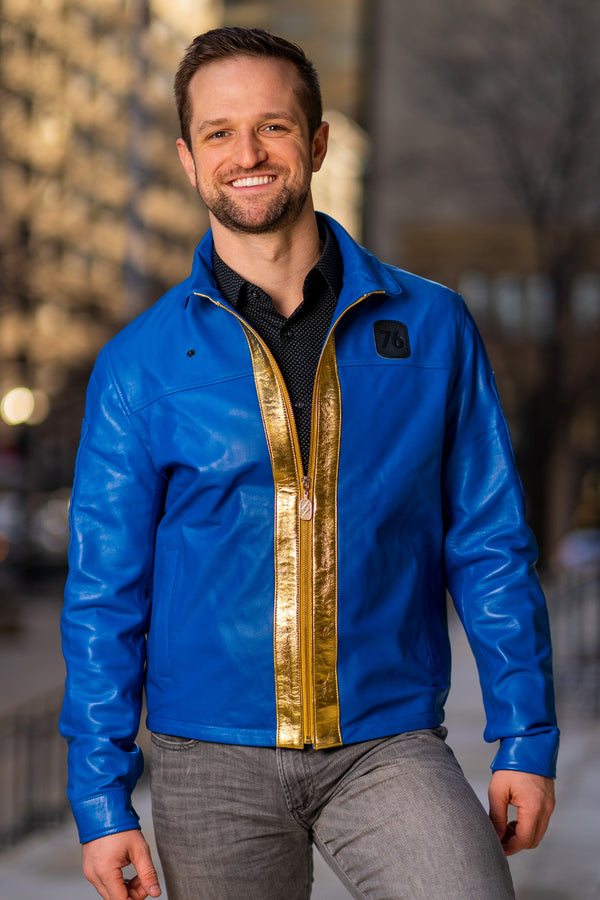 Vault 76 Premium Leather Jacket