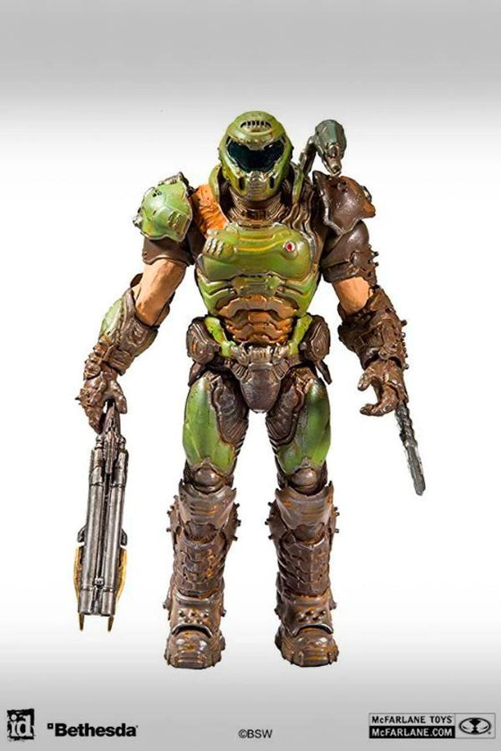 McFarlane DOOM Slayer Figure Front