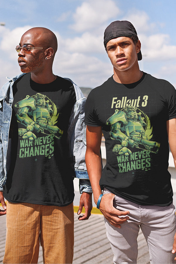 Fallout 3 War Never Changes Tee