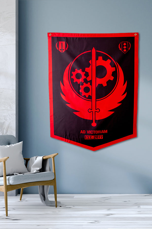 Brotherhood of Steel Banner Official Bethesda Gear Store