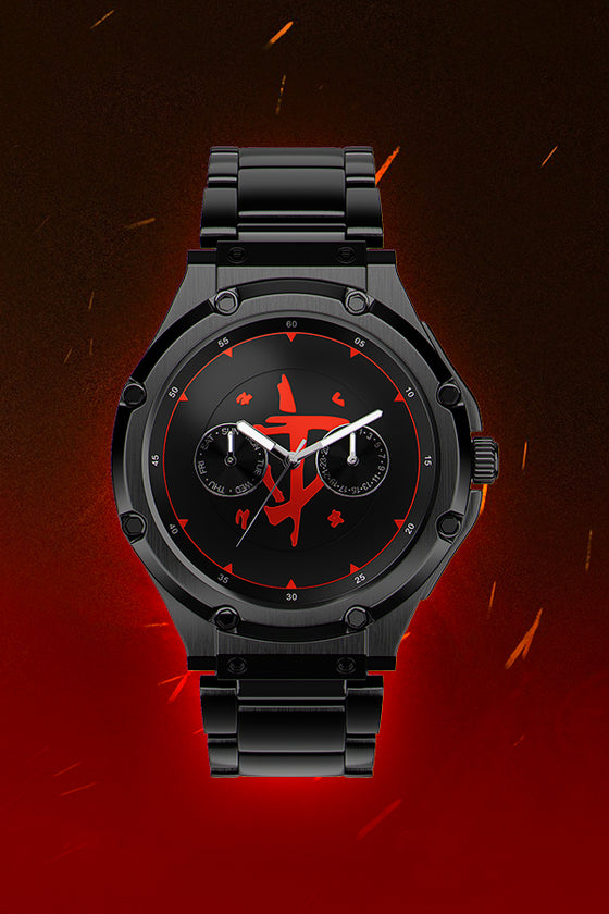 Doom Slayer Watch Front Black