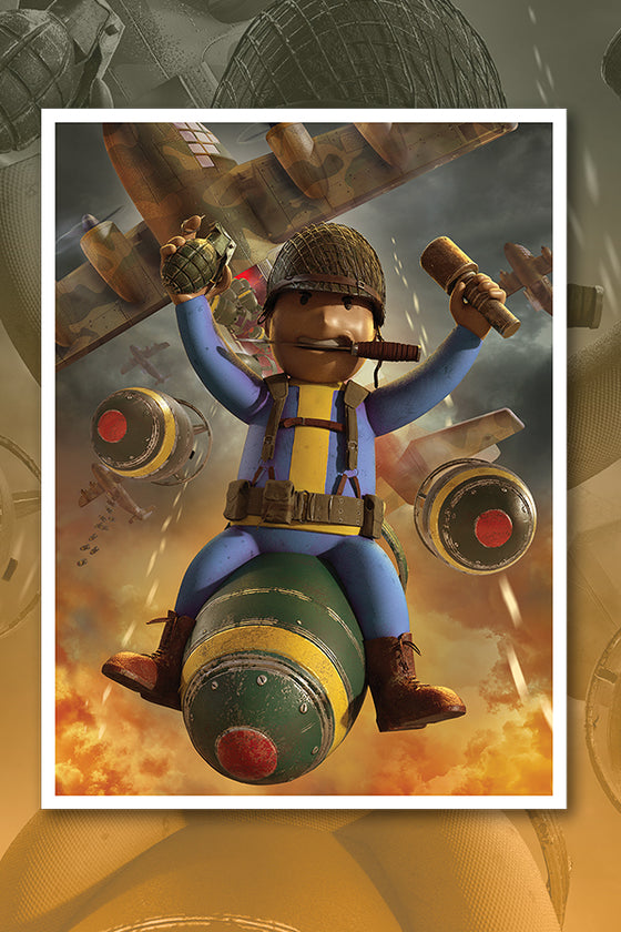 Great War 2020 Payload Variant Lithograph