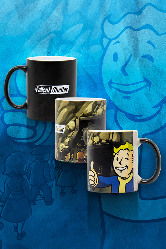 Fallout Shelter Color Changing Mug