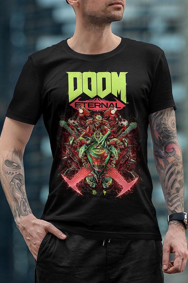 Doom Eternal Luke Preece x Billelis Tee