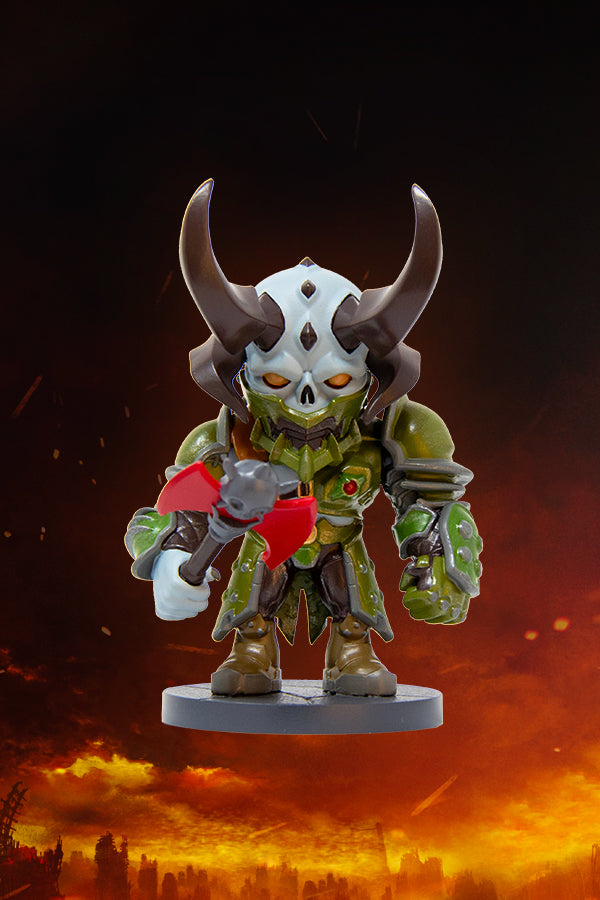 Doom Eternal Mini Marauder Collectible Official Bethesda Gear Store