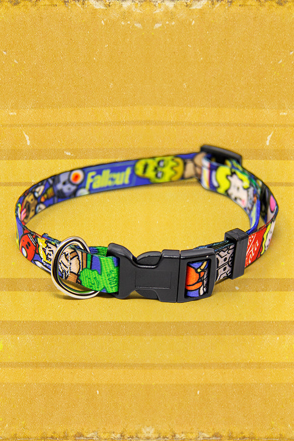 Fallout Emoji Dog Collar