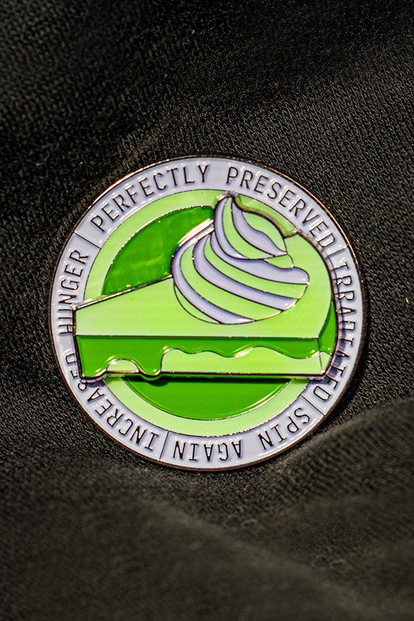 Irradiated Pie Pin