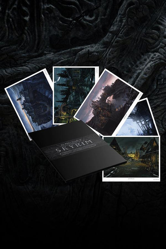 Skyrim Concept Art Lithograph Set