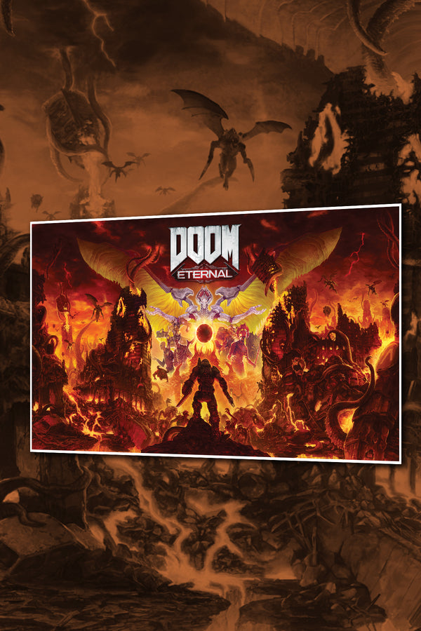 DOOM Eternal Key Art Lithograph
