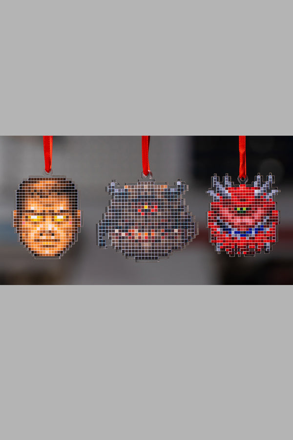 Doom Sprites Ornament Set