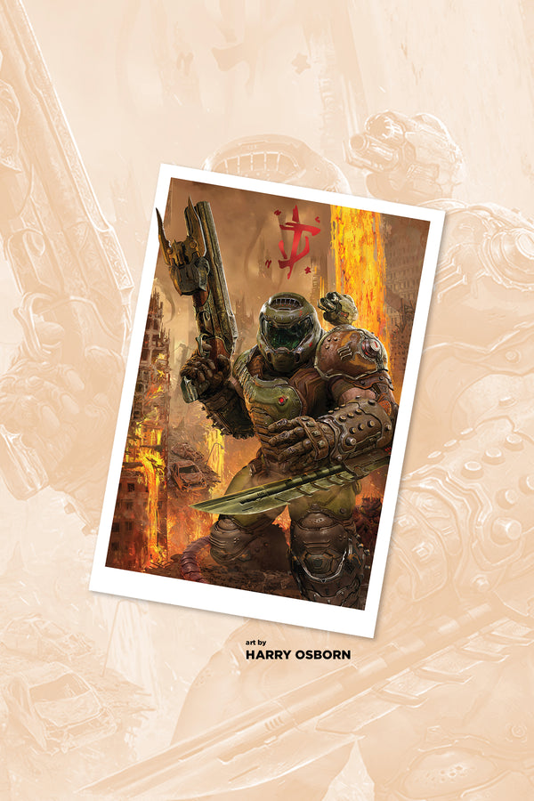 DOOM Eternal Slayer Lithograph