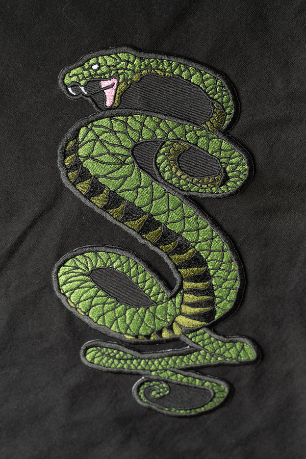 Tunnel Snakes Embroidery Patch