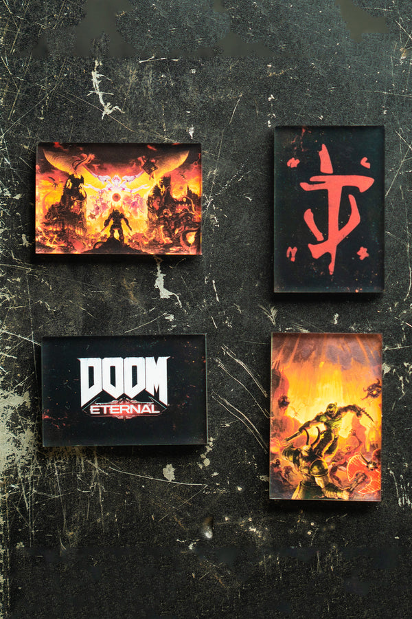 DOOM Eternal Magnet Set