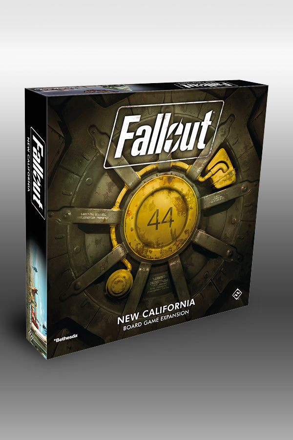 Fallout: The Board Game: New California Expansion